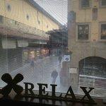 Vista su Ponte Vecchio dalla sala relax