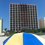 beach front resort!