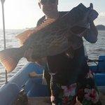 Catching big crazy fish