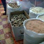 Sugared Amaranth,plain, walnuts and oatmeal