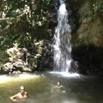 Waterfall on Lapa Rios Trails