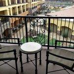 The Meritage: Third Floor Balcony Room View