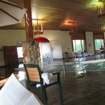 Pool area Holiday Inn Express Munising
