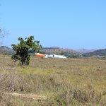 Plane landing at Coron/Busuanga Airport