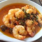 Our fave Gambas al ajilo