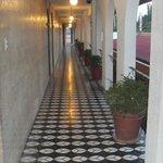 Nice hallway....