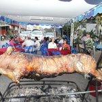 christmas 2012 pig roast for 100 people