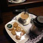 chai n biscuits...yum!