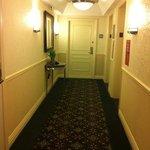 hotel corridor 8th floor