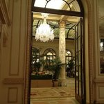 Lovely entrance at The Plaza