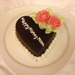 Our honeymoon cake