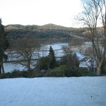 View from Room 6 in the snow - Beautiful