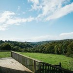 view from hornstone cottage deck
