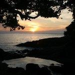 Emerald Bay at sunset