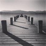 Low wood pier