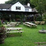 Just part of the extensive pub garden which is surrounded by