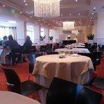 l'elegantissima sala ristorante/colazione