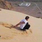 Dahab Sandboarding, 13 Apr'12, 3