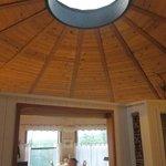 Yurt-style cottage