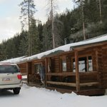 Cabin duplex ..with dog who costs a whopping $25 per nite