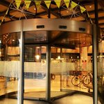 Cape Aurgus Cycle Tour - revolving door