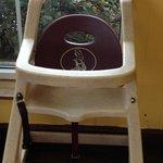 broken high chair