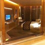 Bedroom from bathroom