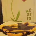 crepes hechas al momento con chocolate, nutella..