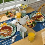 Breakfast on the Sun Porch