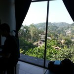 Vista dalla nostra stanza del Kandy View
