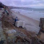 Beach close to Manary Praya Hotel