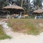 The Restaurant, a step on the beach!