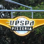 Vespa Pizzeria Sign