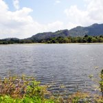 lake near to the resort