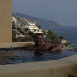 Our infinity edge plunge pool