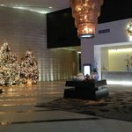 Hotel Lobby during the Holidays