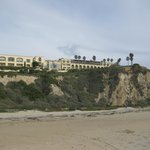 View of The Ritz-Carlton Laguna Niguel from the beach