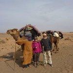 avec Bassou, notre guide