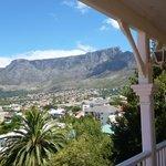 view from the bedroom veranda