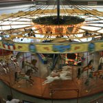 Top view of the 1913 Parker carousel