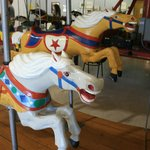 Horses from the Liberty Carousel.