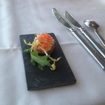 a complimentary Amuse bouche
