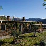 Pure Mountains farmhouse terrace