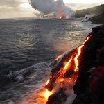 Multiple Lava Flows
