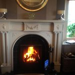 Sitting room Log fire