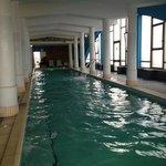 la piscina termale interna