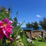 Beautiful view of Lake Titicaca