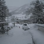 View from Room 7, over the carpark to the Sakka Quad