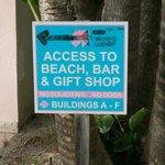 NO bar or gift shop