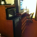 TV & desk area